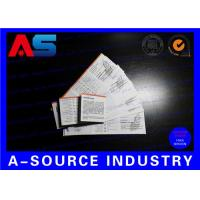 Wholesale Medicine Paper Insert Leaflet Printing 100g Paper Two Sides Black White Printing from china suppliers