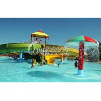 Wholesale Fiberglass Spiral Water Slide , Kid's Water Playground for Commercial from china suppliers