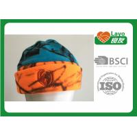 Quality Osfa Outdoor Winter Fleece Hats For Women / Men Blaze Orange Blue Color for sale