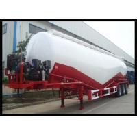 Wholesale 3 Axles Dry Bulk Cement Trailers , Leaf Spring Suspension Cement Bulk Truck from china suppliers
