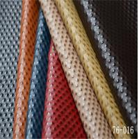 Wholesale embossed pu leather with nonwoven for shoe upper from china suppliers