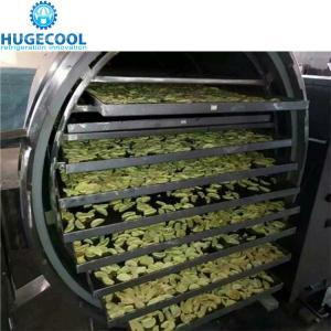 China Automatic Control Vacuum Freeze Drying Machine , Freeze Dried Food Dryer on sale