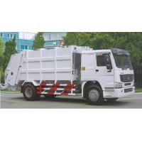 Wholesale White Sinotruck  Howo  4 x 2 8L 8-12m3 White Color Compacted Garbage truck from china suppliers