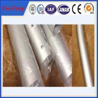Wholesale CNC/drilling/bended aluminium pipes tubes specially for rack/tent,aluminium tent pipes from china suppliers