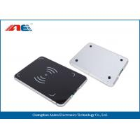 Wholesale 0.2W RF Power Integrated RFID Pad Reader , Lightweight 13.56 Mhz RFID Reader Writer from china suppliers