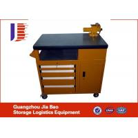 Wholesale Custom Rolling Tool Storage Cabinets , Steel 5 Drawer Tool Cabinet from china suppliers