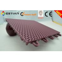 Wholesale Outdoor Volleyball Court Floor, Suspended Interlocking Sports Flooring ROSH,DIN Standard from china suppliers