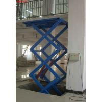 Wholesale 380v / 50hz Electric Scissor Hydraulic Lifting Equipment Lift Table from china suppliers