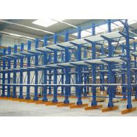 Wholesale Outdoor / Indoor Cantilever Storage Racks Corrosion Protection Customized Size from china suppliers