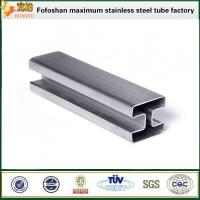 Buy cheap Stainless steel pipes 316 slotted tubing  for stair handrail from wholesalers