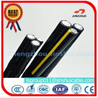 Wholesale MV Voltage Aluminum Overhead Power Cables Triplex Type ASTM B-230 Standard from china suppliers
