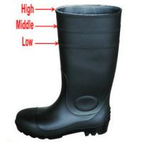 Wholesale Anti static Rain boots pvc Insulating working boots industrial safety boots from china suppliers