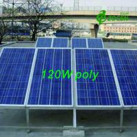 Quality Photovoltaic PV Polycrystalline Solar Module 120W for Charging Led lights for sale