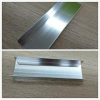 Wholesale Machanically Polished Aluminum Profiles , Highly Wear Resistance ,Silver , Brightness from china suppliers