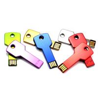 Wholesale Stylish Metal Flash USB Thumb Drives Key Shaped Memory 64MB - 64GB from china suppliers