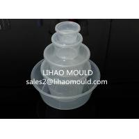 Wholesale 500-3500ml thin wall disposable plastic injection round container mould from china suppliers