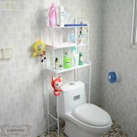Wholesale custom iron products toilet shelf bathroom rack from china suppliers