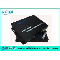 Wholesale AC220V / 50Hz VGA to Fiber Converter 1310nm / 1550nm Wavelength video transmitter receiver from china suppliers