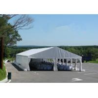 Wholesale Large size Commercial Party Tent wth white / yellow Double PVC Coated Rooftop from china suppliers