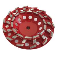 Buy cheap S Type Segmented Diamond Grinding Cup Wheel Concrete Cup Diamond Wheel from wholesalers