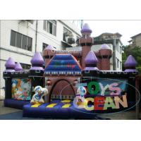 Wholesale Amusement Disney PVC Jumping Inflatable Playground For Kids Party Play from china suppliers