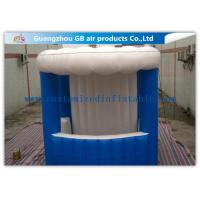 Quality Portable Inflatable Mini Kiosk  Inflatable Trade Show Booth  PVC Coated Tarpaulin for sale