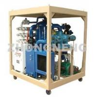Wholesale Double-Stage Vacuum Transformer Oil Purifier with High Efficiency from china suppliers
