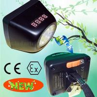 Wholesale MSHA CREE XPE 1W LED Mining Helmet Light IP65 100 Lumens With Digital Device from china suppliers