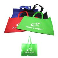 Wholesale Promotional Non Woven Bag Colorful Supermarket Shopping Bags Logo Customized from china suppliers