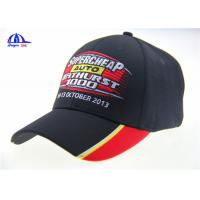 Wholesale 6 Panel Black Embroidery Custom Baseball Caps from china suppliers