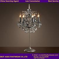 Wholesale Crystal center pieces for weddings desk light wholesale glass table lamp from china suppliers