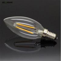 Wholesale 4W 8W E14 220V AC LED Filament Candle Bulbs 360 Degree bulb New Design lamp Replace Incandescent Light Energy Saving Dim from china suppliers
