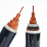 Wholesale Electrical Lines 50mm 4 Core Armoured Cable , PVC Sheathed Power Cable Anti Extrusion from china suppliers