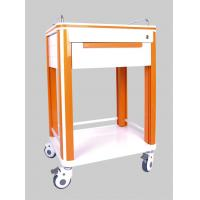 Wholesale One Drawer Aluminum or Stainless Steel Hospital Medical ABS Nursing Trolleys from china suppliers