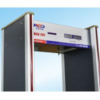 Wholesale 8 Status Led Display Walkthrough Metal Detector 6 Detection Zones from china suppliers