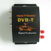 Wholesale DVBT MPEG-4  Double Tuner  Digital TV Receiver Digital DVBT TV Tuner TOP Box from china suppliers