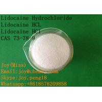 Wholesale USP High Purity Lidocaine Hydrochloride Lidocaine HCL Lidocaine HCI CAS 73-78-9 Local Anesthetic Pain Relief from china suppliers