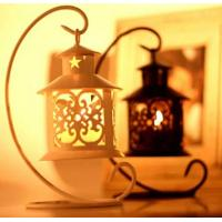 Buy cheap iron-candle-holder Romantic wedding gift yard decor wedding light table lamp from wholesalers