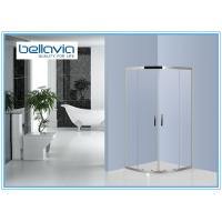 Wholesale Quadrant Stainless Steel Shower Enclosures Double Sliding door Bathroom Shower Stall from china suppliers