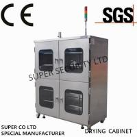 Wholesale Electronic Stainless Nitrogen Dry Cabinet with towder light, anti-humidity and dehumidification from china suppliers