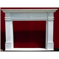 Wholesale Indoor Fireplace ,White Marble Fireplace Mantel,Granite Fireplace ,Beige Marble Fireplace from china suppliers