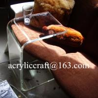 Wholesale Clear Acrylic Furniture Lucite Coffee Table Plexiglass END SLIDE TABLE from china suppliers