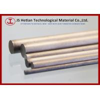 Quality CO 10% 310 mm Tungsten Carbide Rod with 0.6 Micron TC Phase , 14.37 g / cm3 Density for sale