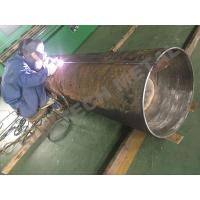 Quality Explosive Welding Nickle Alloy Bimetallic Clad Pipe For Chemical Process Equipment for sale