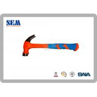 Wholesale Scaffold Accessories Steel Hammer With TPR Handle , 16oz , Mirror Polish from china suppliers