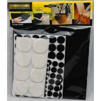 Wholesale Home Helper Felt and EVA Pads Kit, 125 Pieces, Black and White from china suppliers