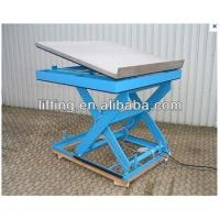 Wholesale 3 - 5ton Hydraulic scissor lift platform 0.5ton  for granary , bus / railway stations from china suppliers