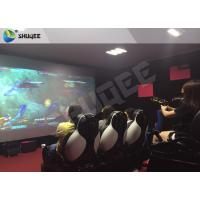 Buy cheap Multiplayer Interactive 7D Shooting Game 7D Movie Theater With Shooting Game And 9 Luxury Motion Seats from wholesalers