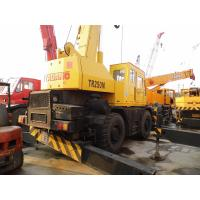Wholesale USED TADANO TR250M-5 ROUGH TERRAIN CRANE SALE from china suppliers