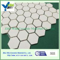 China China Manufacturer Supplied Alumina Ceramic Hexagonal Sheet as Wear Resistant Liners on sale